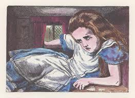 Alice in Wonderland in Rabbit's House