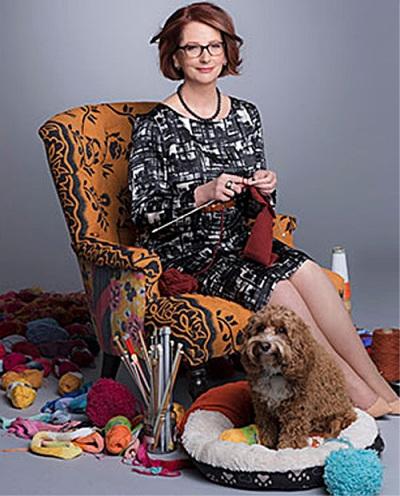 Gillard knitting 2