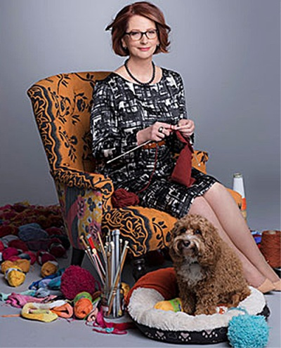 Gillard knitting 2