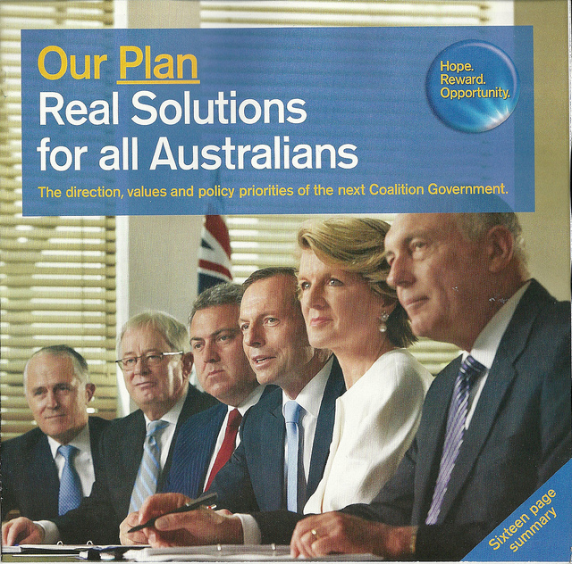 Liberal policy booklet