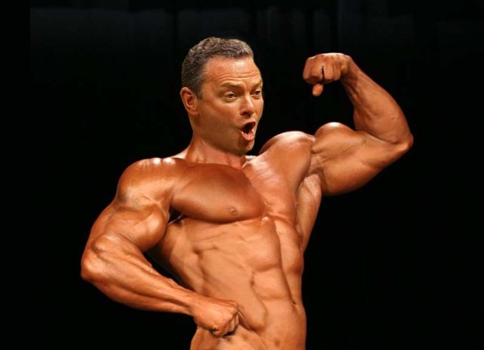 pYNE body builder bare
