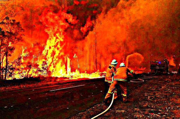 Winmalee Bushfire 2