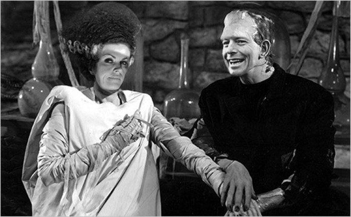 Abbott Credlin Bride of Frankenstein