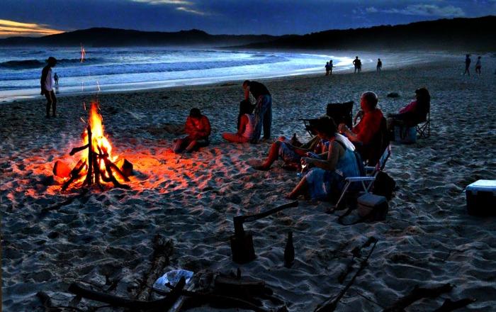 Beach Fire 750