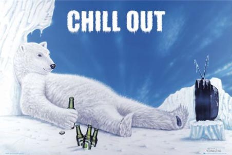 lggn0309chill-out-relaxing-polar-bear-poster2
