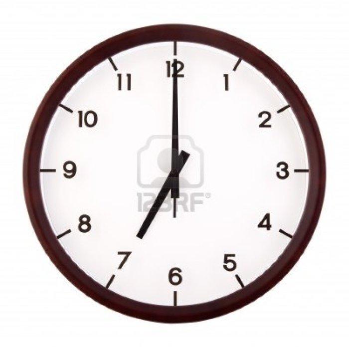 Seven-o-clock